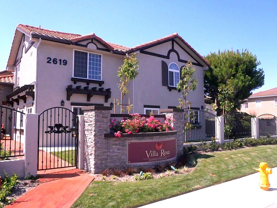 Villa Rosa, Costa Mesa <br>